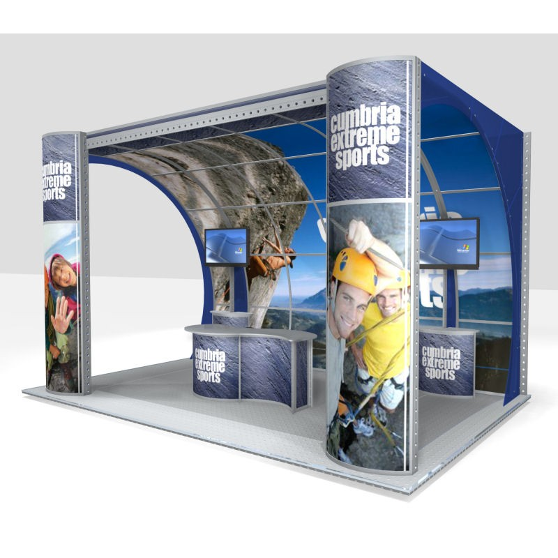 Modular Exhibition Display Stands : Modular exhibition system m