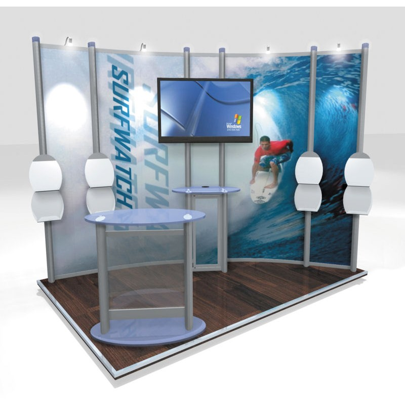 Small Exhibition Stand Mockup : Trade show stand mockup discount displays