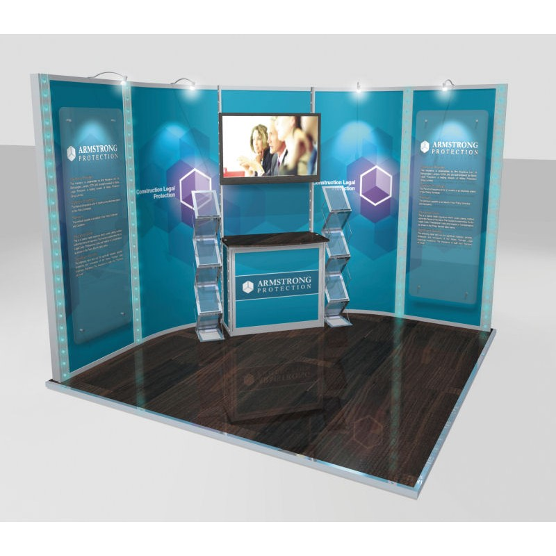 Small Modular Exhibition Stands : Modular display stands discount displays