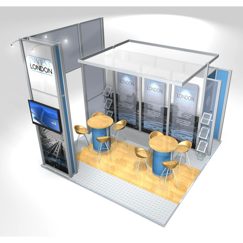 Small Modular Exhibition Stands : Exhibition stand idea discountdisplays