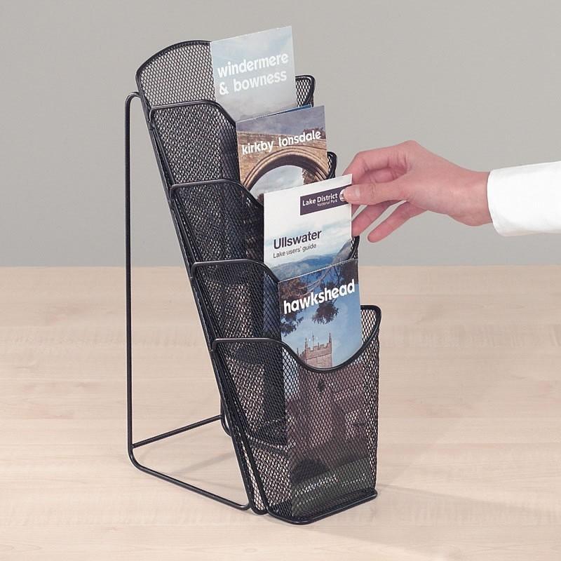 wire table top brochure holder discount displays. Black Bedroom Furniture Sets. Home Design Ideas