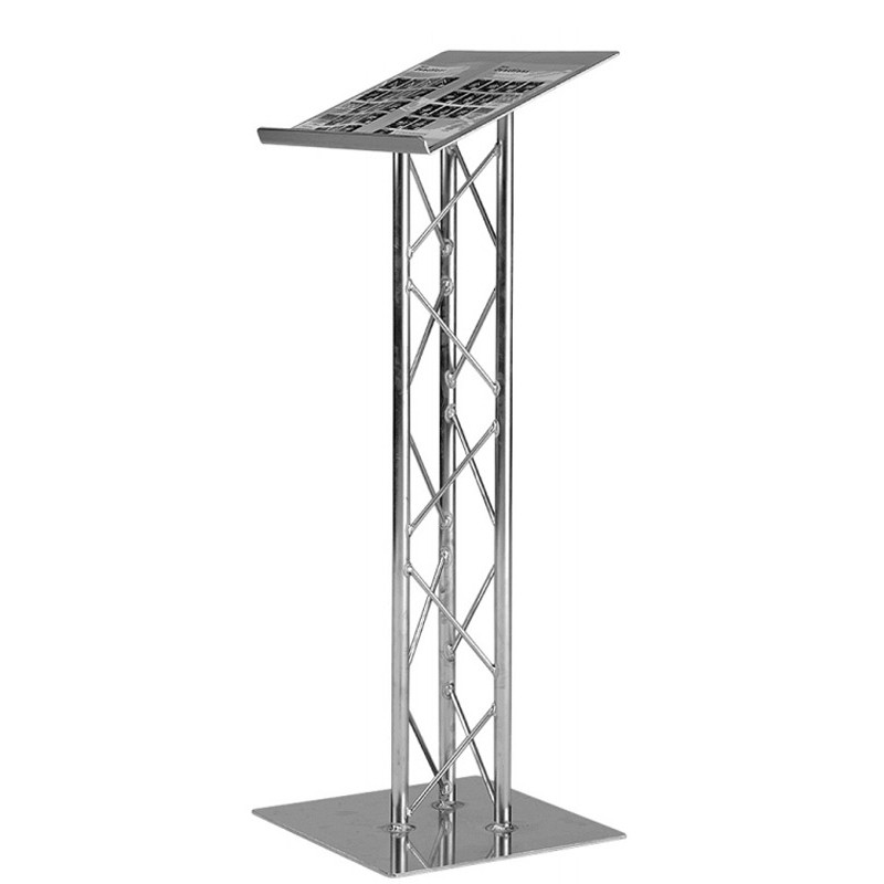 Compact Metal Truss Lectern Discount Displays
