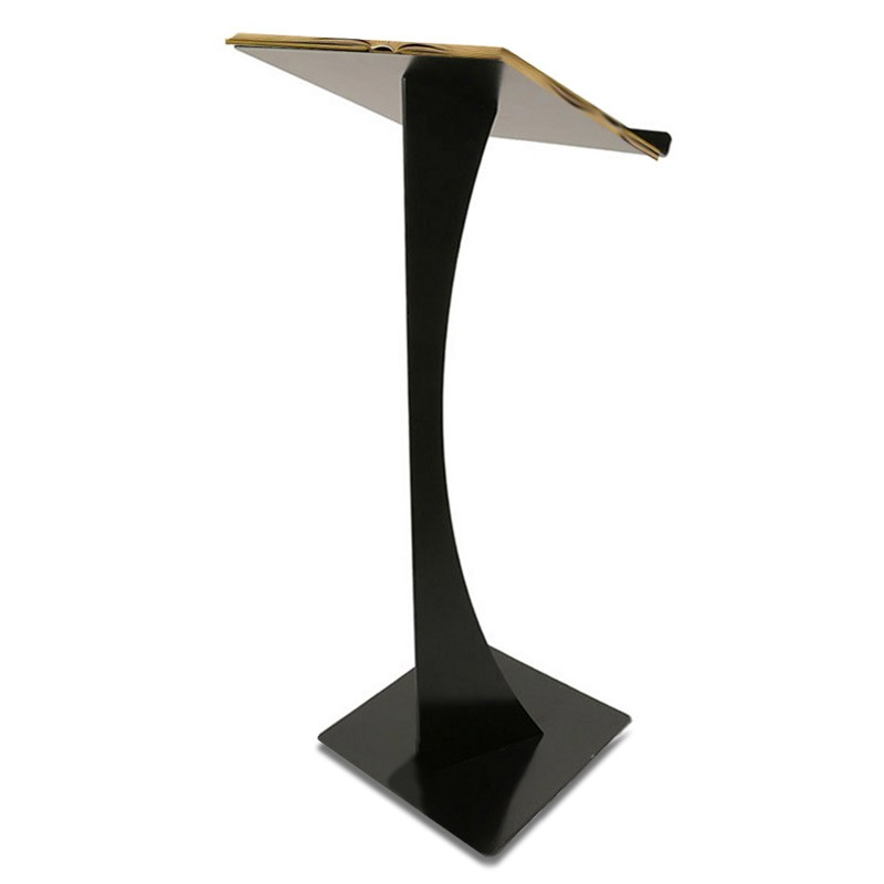 Modern Blade Podium Metal Lectern Discount Displays