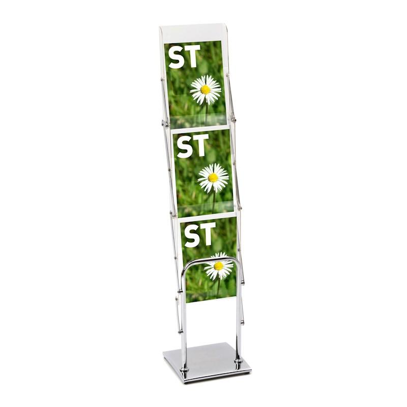 Floor Standing A4 Literature Display Rack Discount Displays
