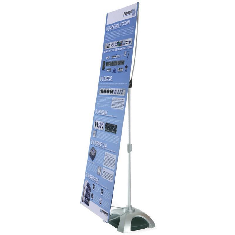 Exhibition Shell Scheme Graphics : Banner stand outdoor displays wind resistant weatherproof