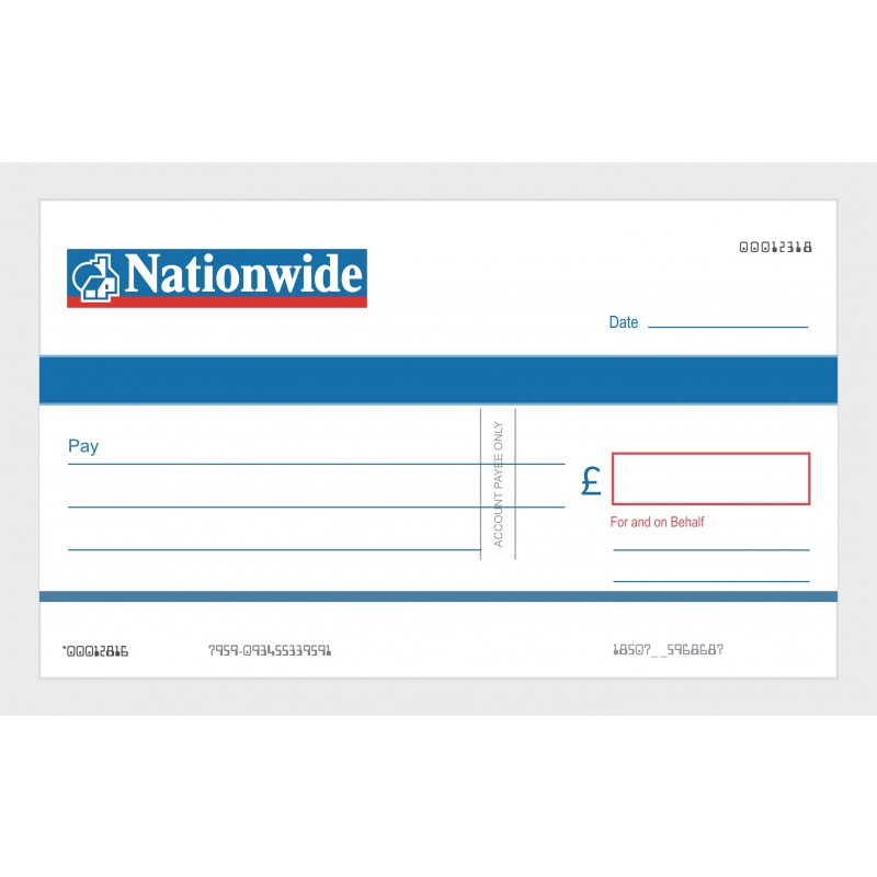 oversized reusable promotional cheques