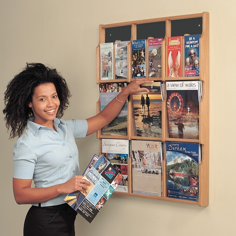 How To Build A Magazine Display Rack