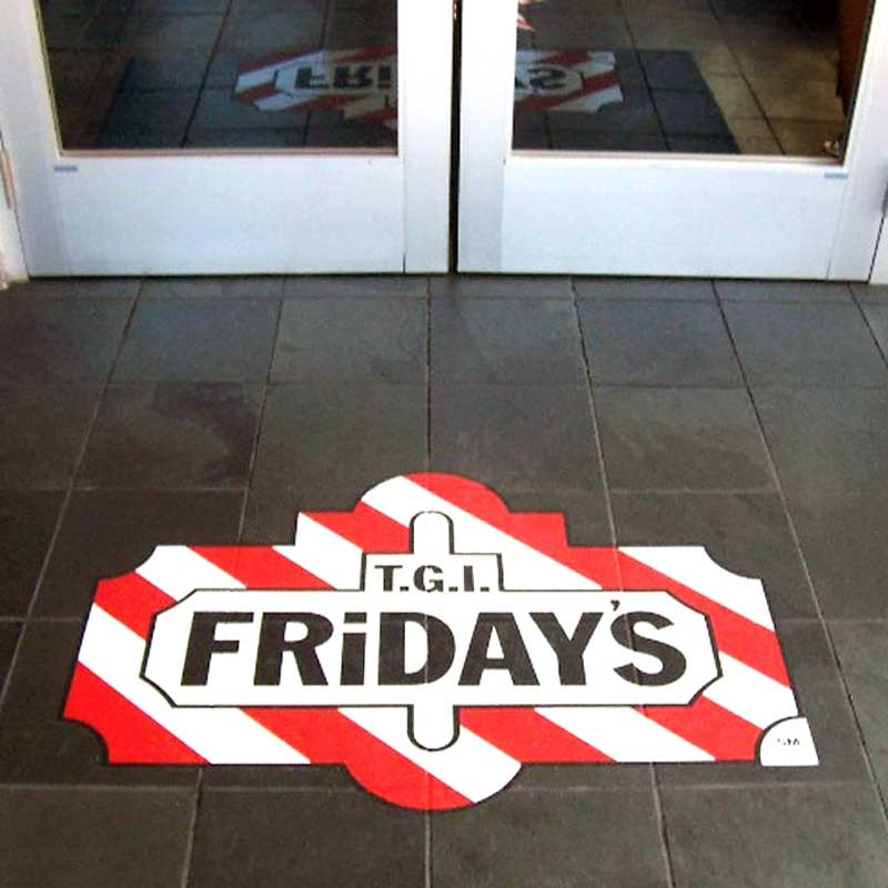 Outdoor Floor Stickers Outdoor Floor Advertsing ...