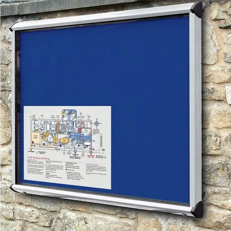 External Pinnable Felt Or Cork Notice Board