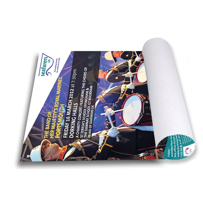 Custom Printed Indoor Paper Posters | Discount Displays