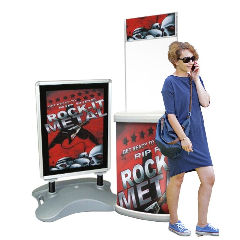 Retail Counter and Pavement Sign Bundle | Discount Displays