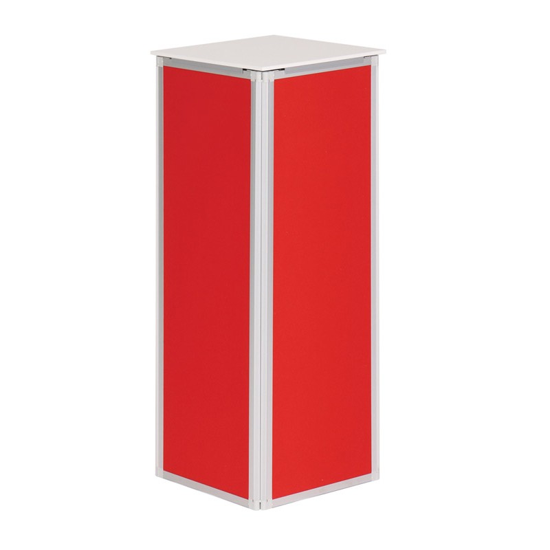 Exhibition Display Plinths : Heavy duty folding display plinth discount displays