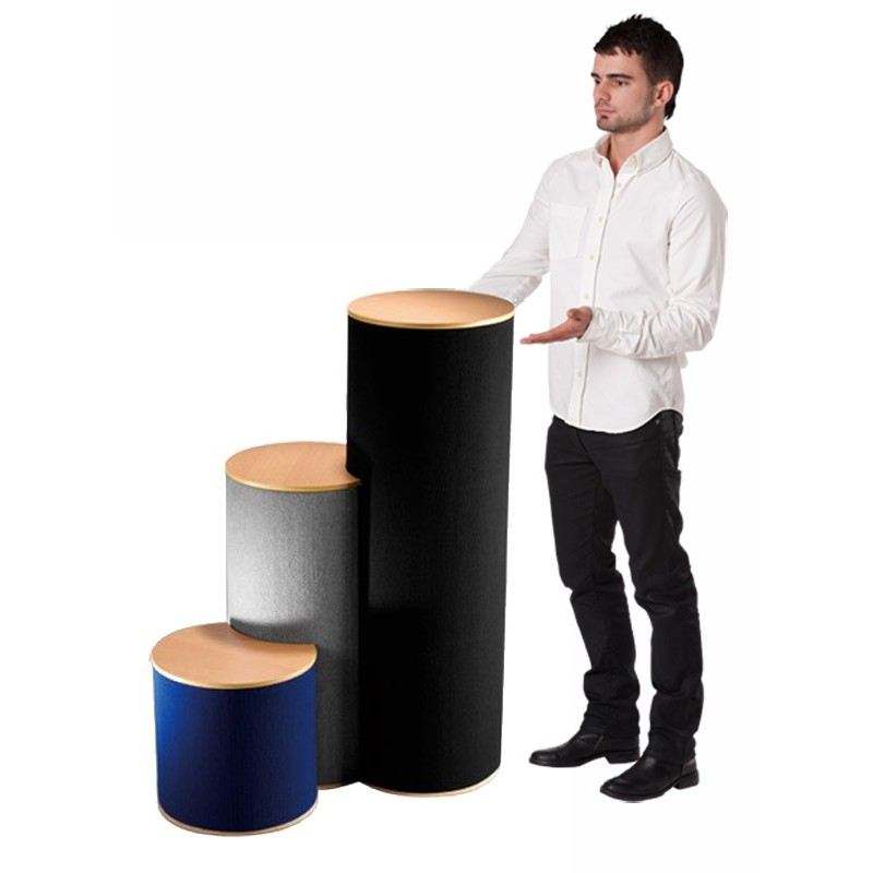 Exhibition Stand Equipment Uk : Display pedestals portable exhibition plinths collapsible