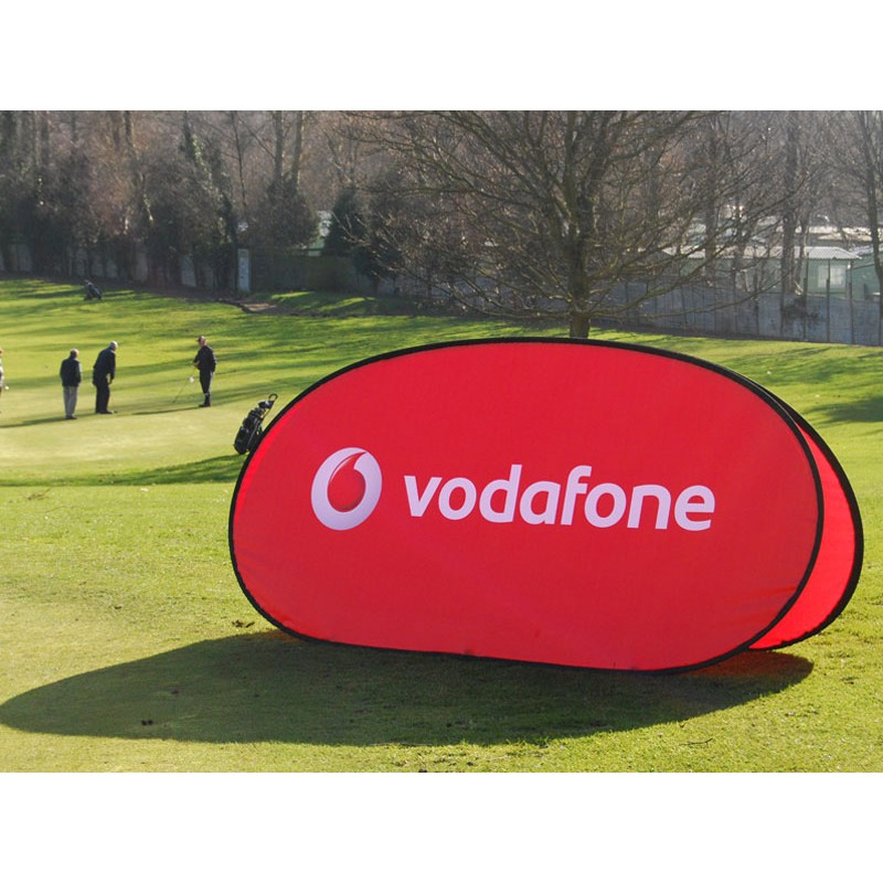 Outdoor Pop Up Banner Frame Pop Out Event Banners