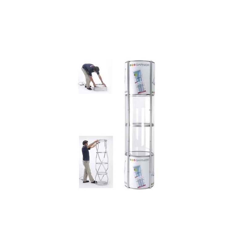 Portable Exhibition Display Cases : Portable display case discount displays