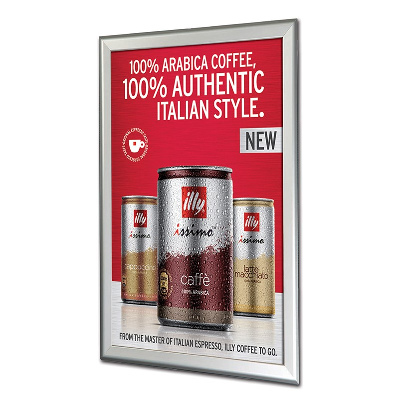 Aluminium Snap Poster Frames   Sizes From A5 To A0
