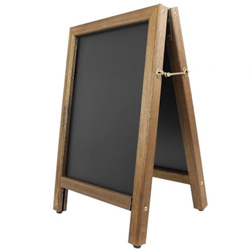Framed Chalkboard Wall Bar