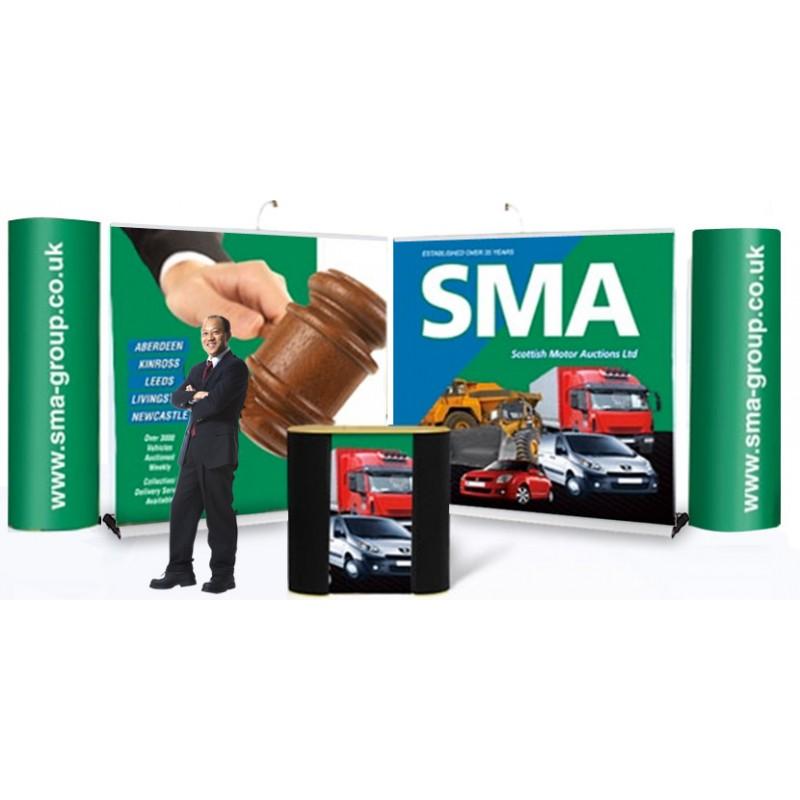 Portable Exhibition Stand Design : Portable exhibition stand bundle discount displays