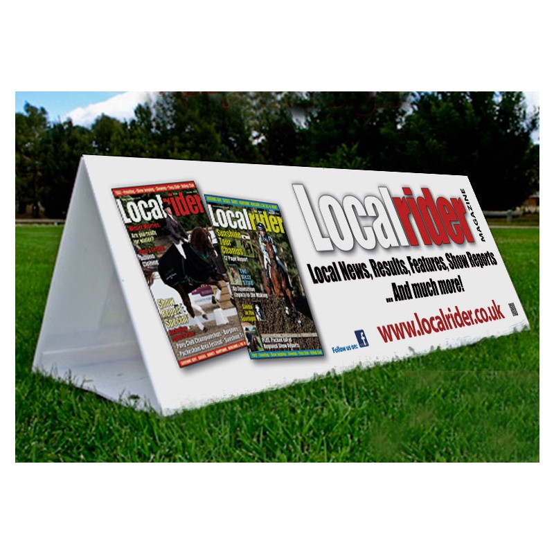 Printed Correx Board Temporary Event Hoarding Discount