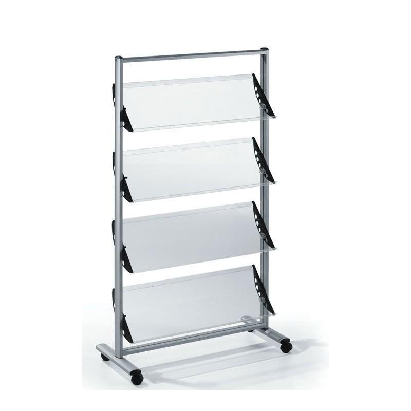 Free Standing Perspex Literature Rack Discount Displays