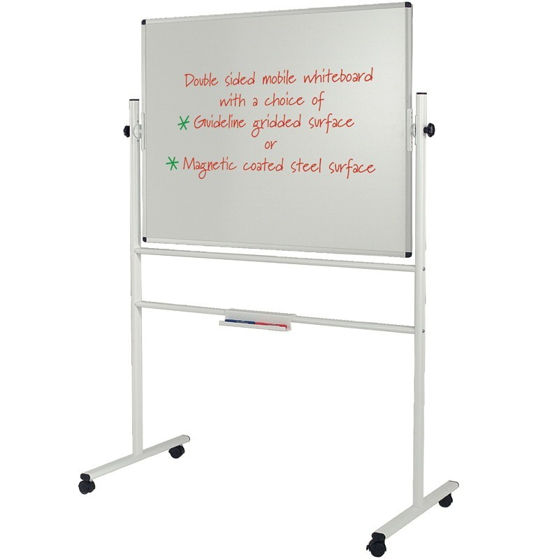 Whiteboard On Wheels Magnetic Laminate Discount Displays