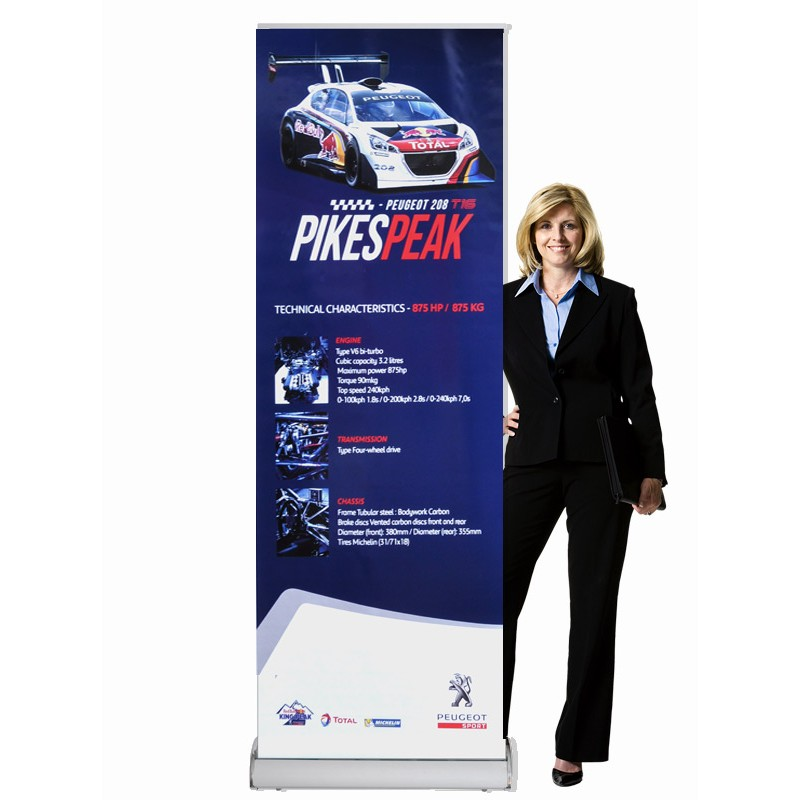 Pull Up Banner Display Stand Discount Displays