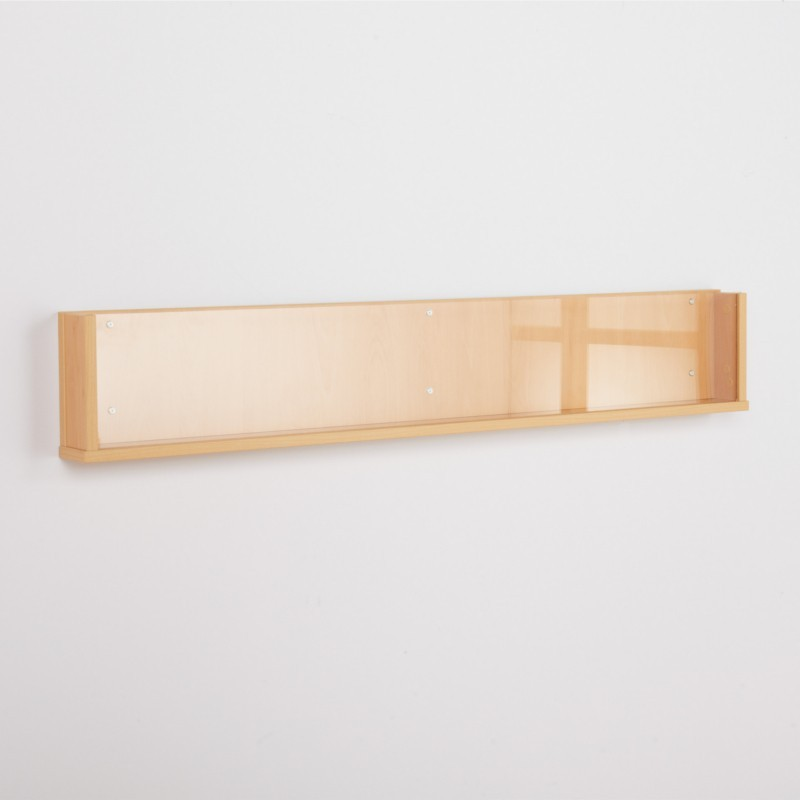 Shelf Style Wall Mounted Dispenser Discount Displays