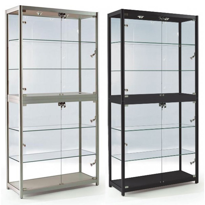 Portable Exhibition Display Cases : Portable xl tower showcase