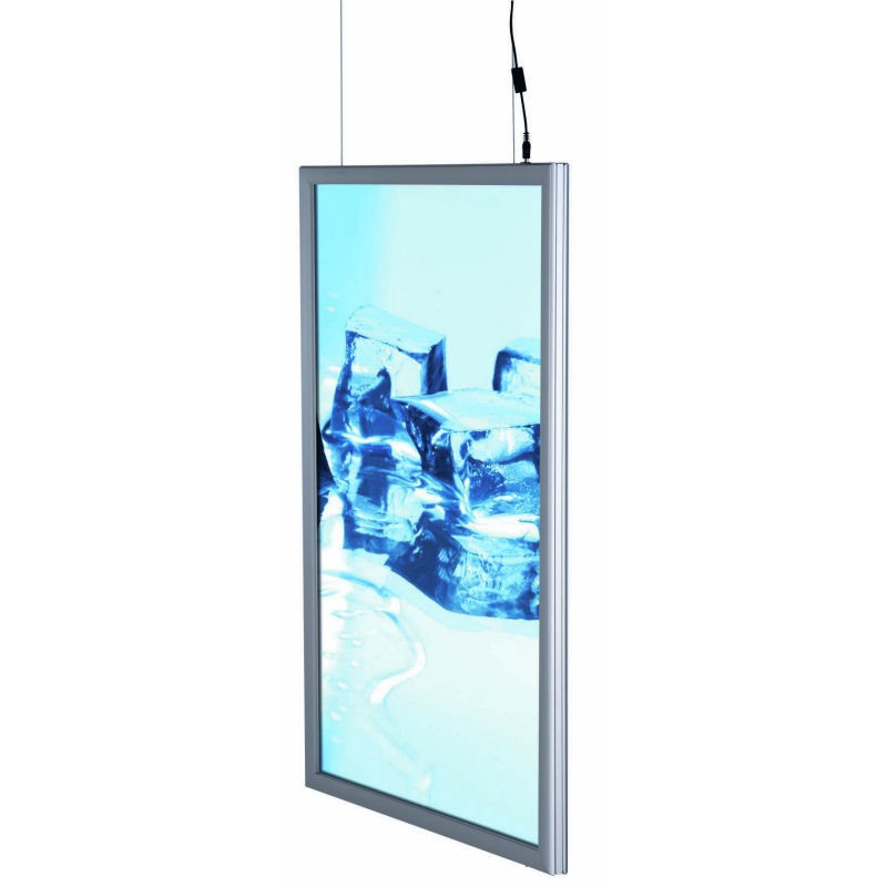 Double Sided Hanging LED Lightboxes | Discount Displays