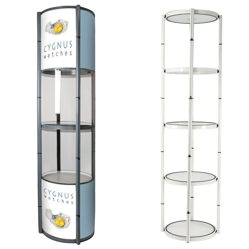 Portable Exhibition Display Cases : Portable display case discount displays