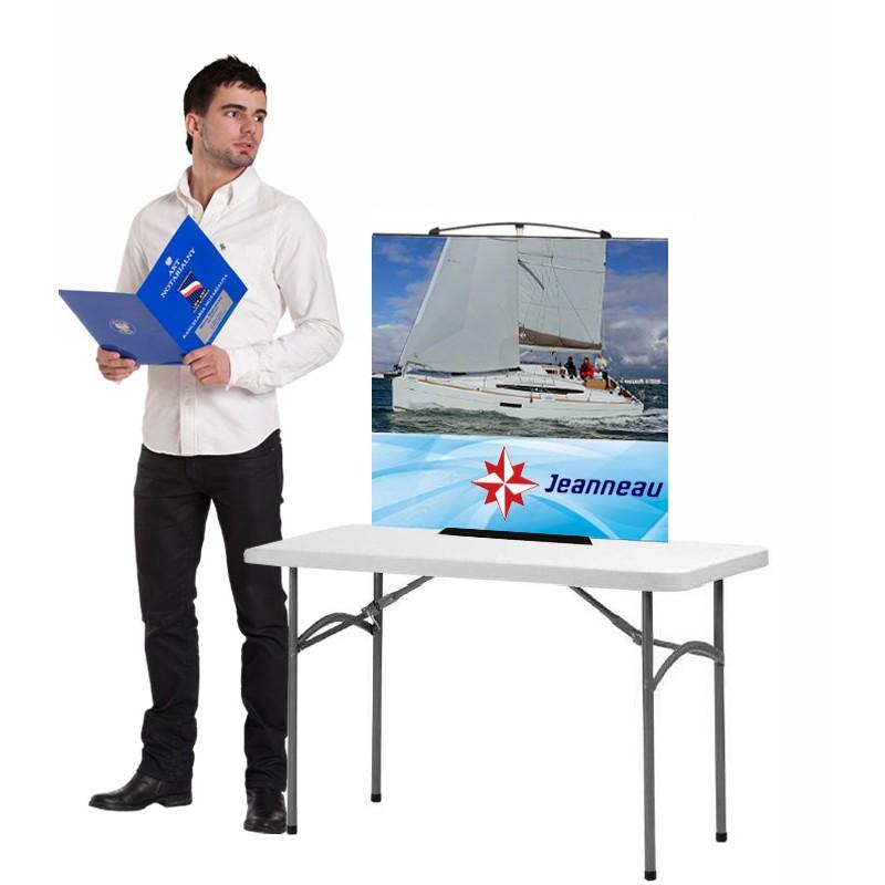 Twist Desktop Banner Stand Discount Displays