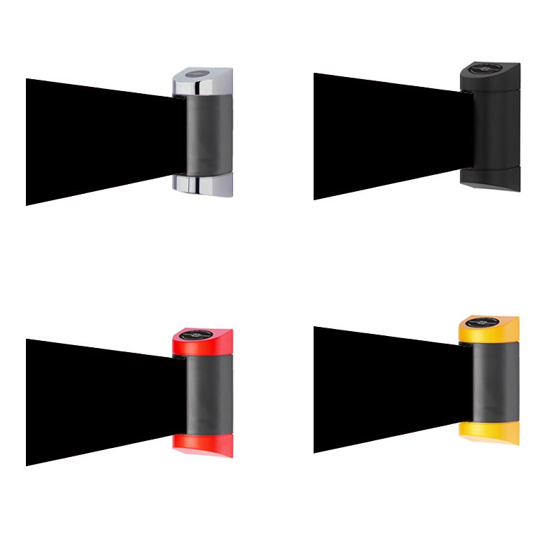 2m Wide Wall Mounted Retractable Barrier