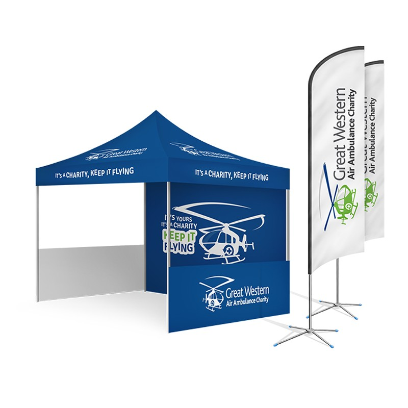 Custom Printed Event Awning