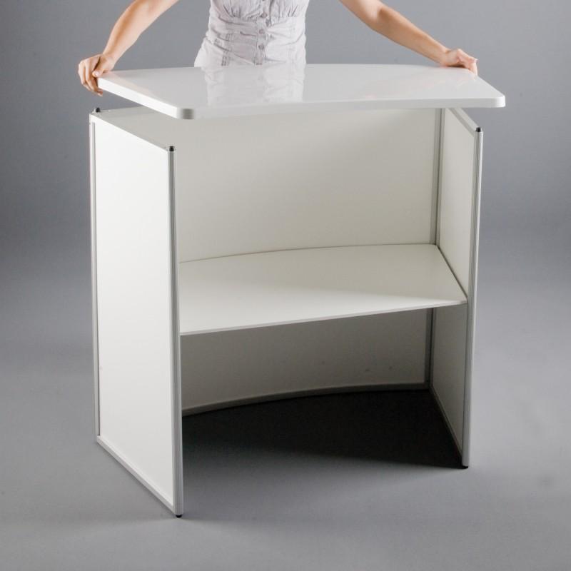 Portable Exhibition Counter : Trade show portable counter