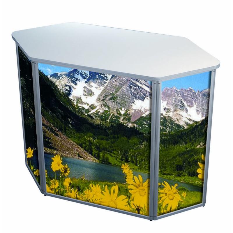 Portable Exhibition Counter : Portable exhibition counter discount displays uks