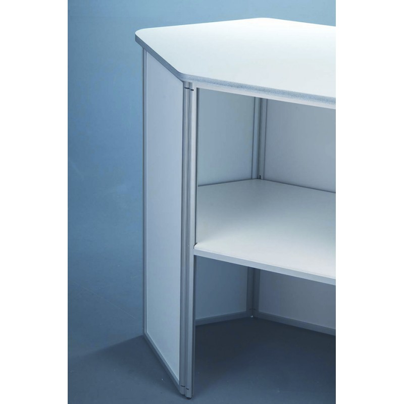 Exhibition Portable Flat Pack Furniture : Portable exhibition counter discount displays uks