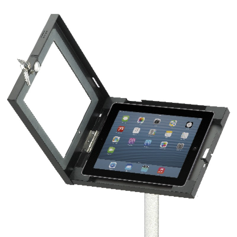 Height Adjustable Trade Show Ipad Stand Discount Displays