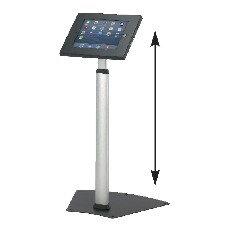 Exhibition Stand Height : Height adjustable trade show ipad stand discount displays