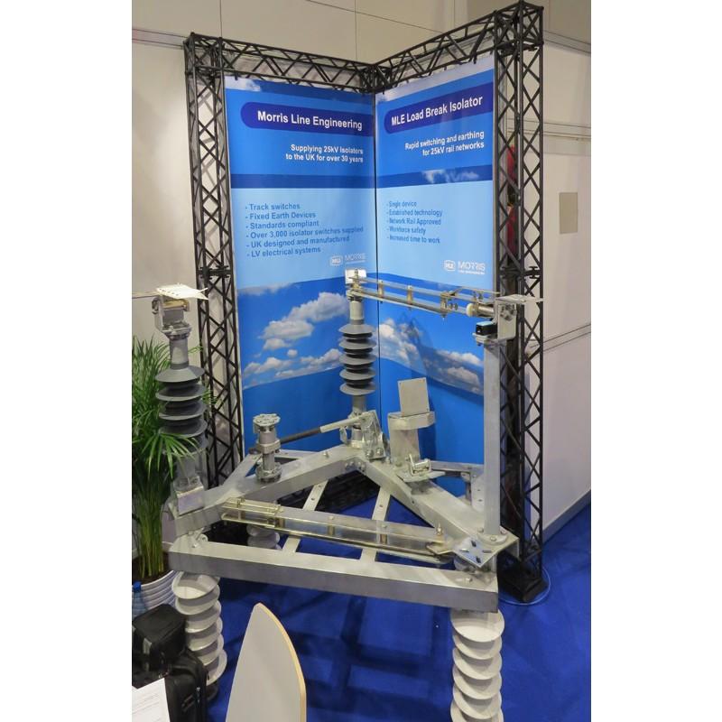 Corner Exhibition Stands Kit : Truss kit exhibition gantry corner stand discount displays