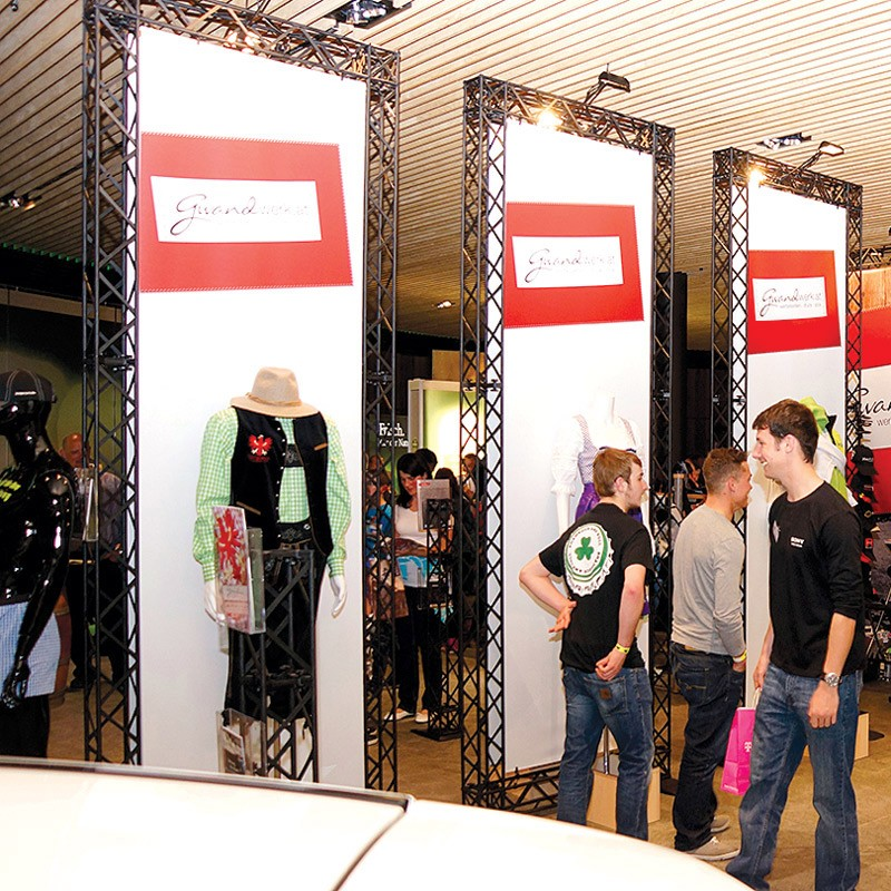 Exhibition Shell Graphics : Modular exhibition systems discount displays