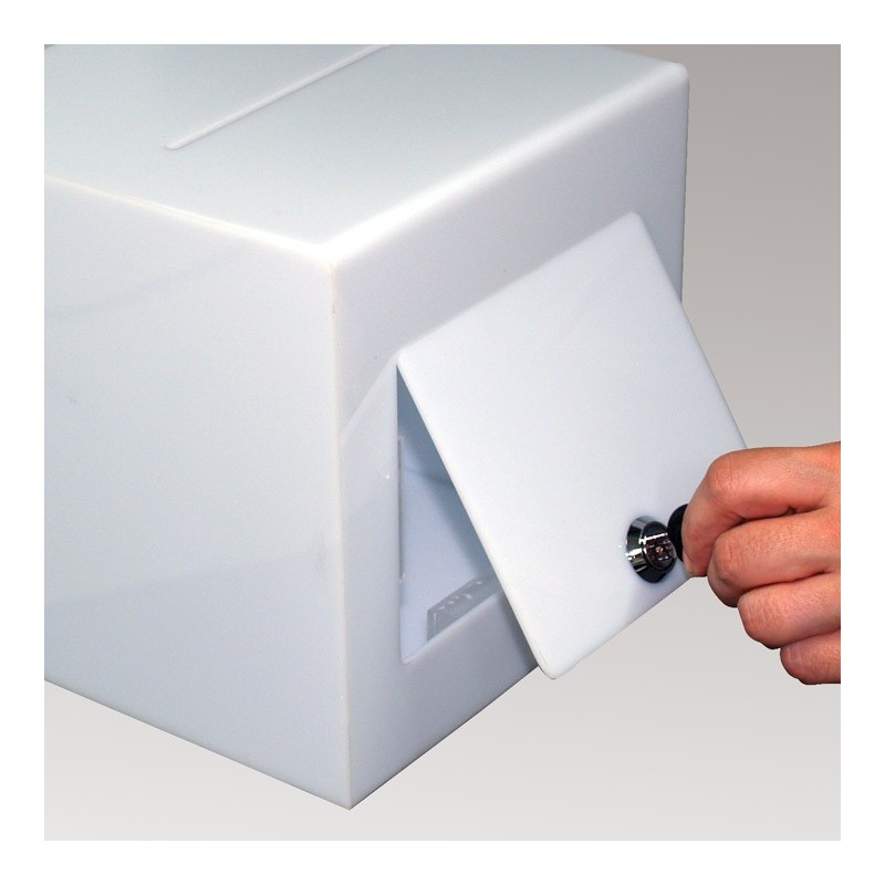 Lockable Suggestion Ballot Box Discount Displays