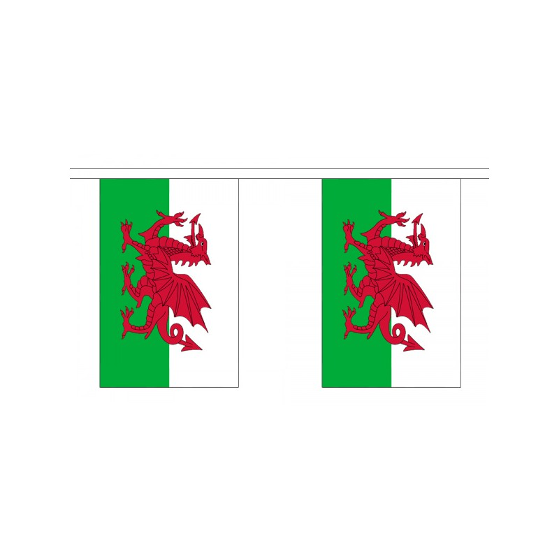 Welsh Bunting 10 Flags Discount Displays