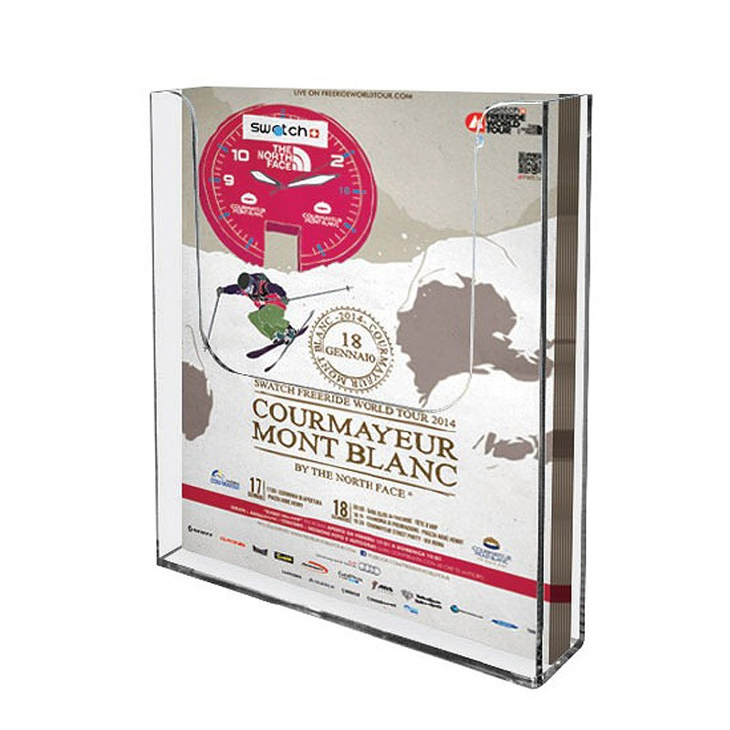 Perspex Wall Literature Organiser Discount Displays