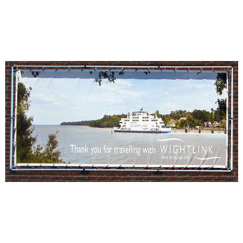 Wall Mounted Banner Advertising Frame | Discount Displays