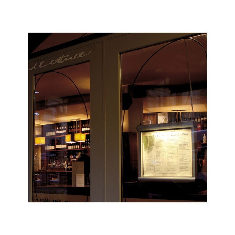 Wall Window Menu Display Case Discount Displays