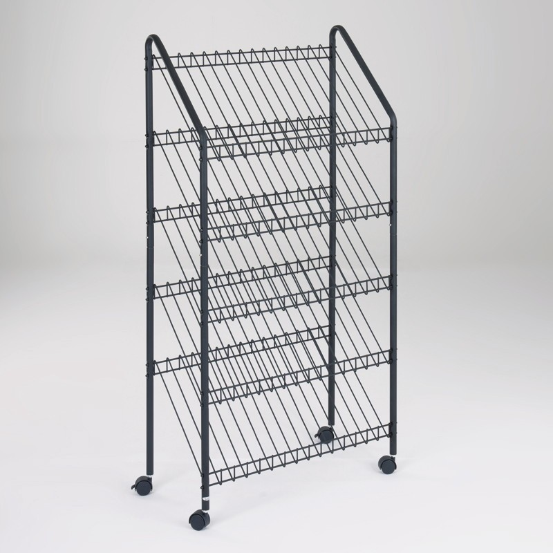 wire magazine rack. Black Bedroom Furniture Sets. Home Design Ideas