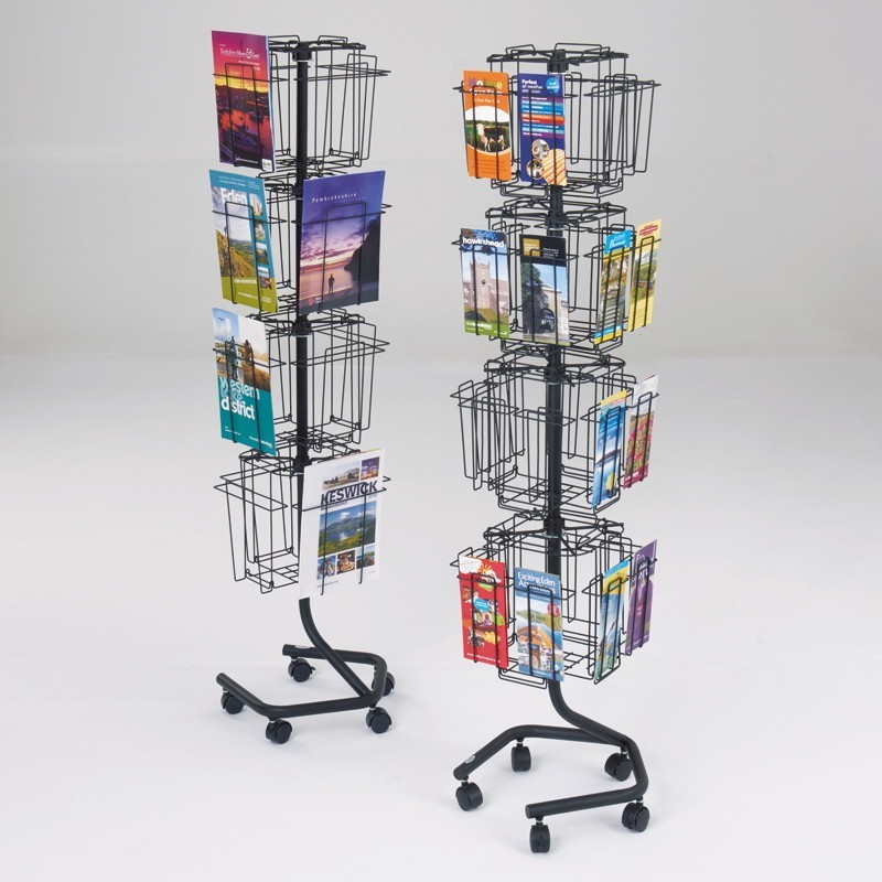 Wire Literature Rack Discount Displays