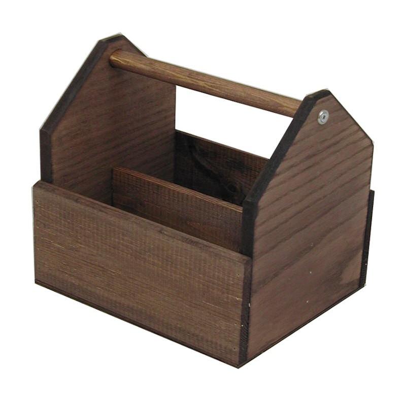 Wooden Condiment Holder Discount Displays