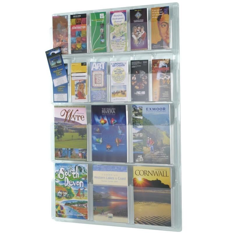 Wall Mounted Acrylic Leaflet Holder