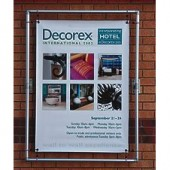 Wall Mounted Banner Advertisement Frame